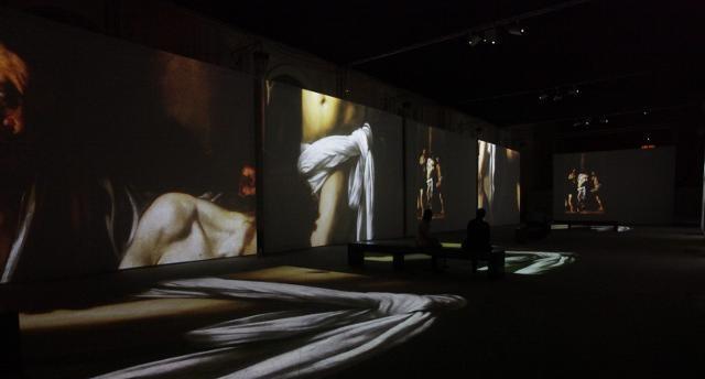 """A Palazzo Sant'Elia le installazioni di """"Caravaggio Experience"""""""